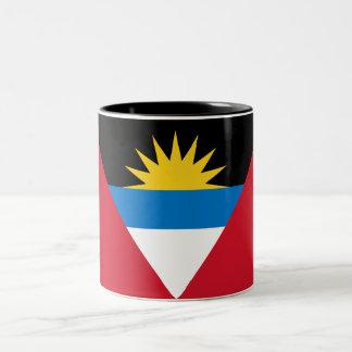 Antigua and Barbuda Two-Tone Coffee Mug