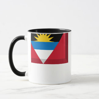 Antigua & Barbuda Flag Jewel Mug