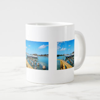Antigua Dock Large Coffee Mug