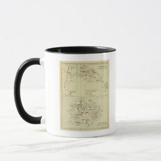 Antigua Lithographed Map Mug