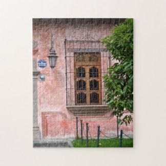 Antigua Pink Window Puzzle
