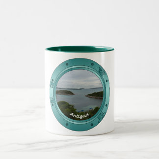 Antigua Porthole Two-Tone Coffee Mug