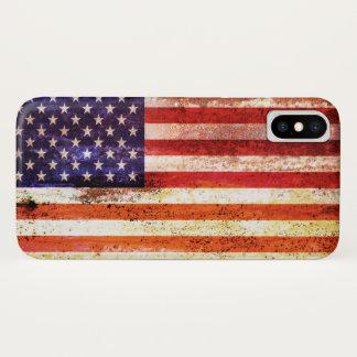 Antiquated American Flag iPhone X Case