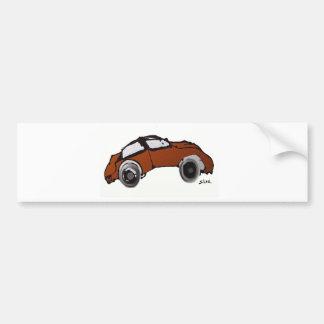 Antique Auto Bumper Sticker