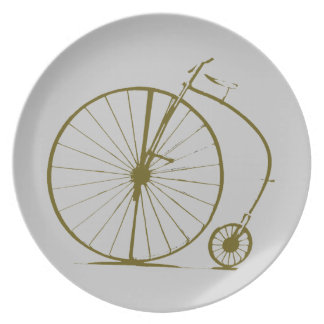 antique bicycle plate