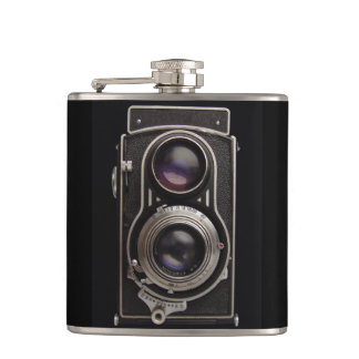 Antique Box Camera Father s Day Flask