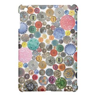 Antique Button Case iPad Mini Cover