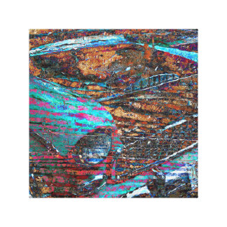 Antique Car Color Splash! Gallery Wrap Canvas