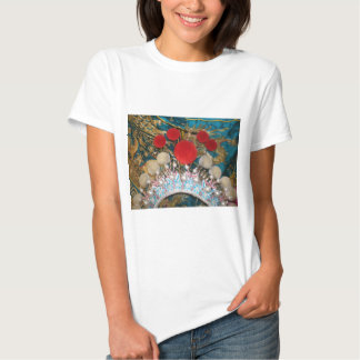 antique chinese headress tshirt