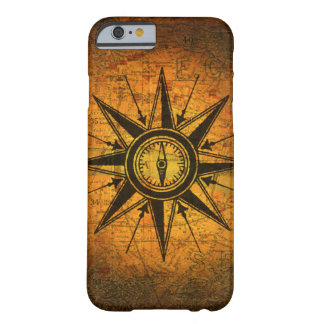 Antique Compass Rose Barely There iPhone 6 Case