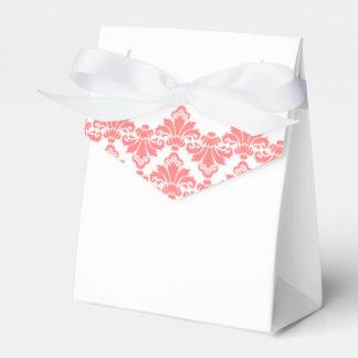 Antique Damask Wedding Favor Box Blush 2 Party Favour Box