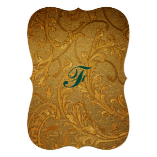 Antique,gold,vintage,damask,victorian,floral,chic Cards
