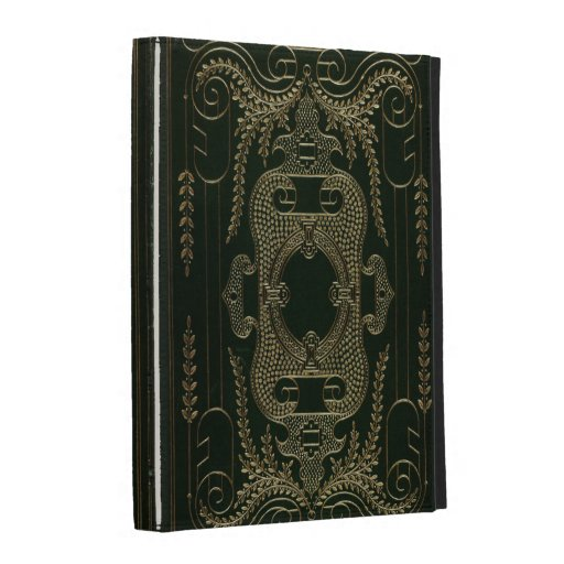Antique Leather Book binding iPad Case