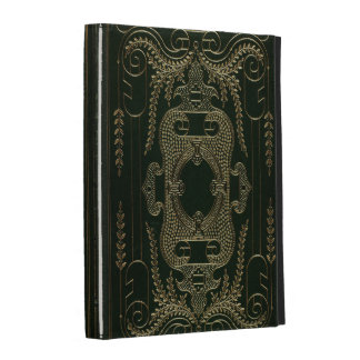 Antique Leather Book binding iPad Cases
