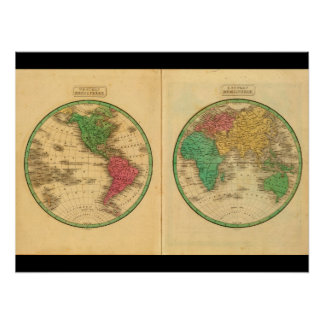 Antique Maps of the World_Maps of Antiquity Poster