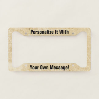 Antique Paper Scratchy Personalised