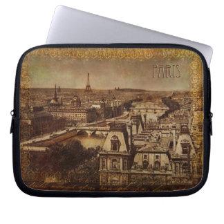 Antique Paris Laptop Sleeve