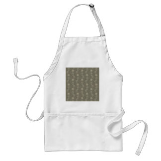 Antique Seahorse And Starfish Pattern Standard Apron