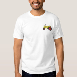 Antique Tractor Embroidered T-Shirt