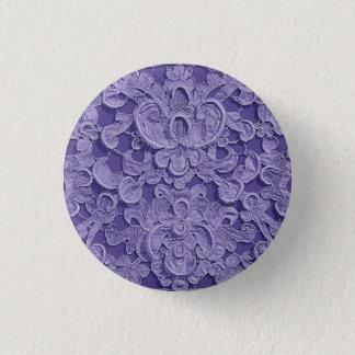 Antique Vintage Purple Lace Button
