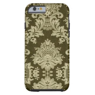 Antique White Traditional Linen & Lace Tough iPhone 6 Case