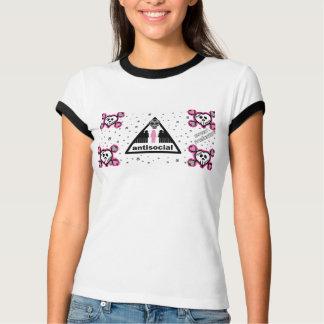 AntiSocial - Ladies T-Shirt
