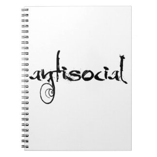antisocial notebook