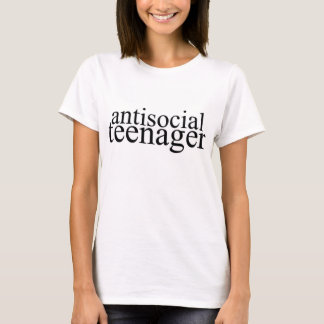 Antisocial Teenager Graphic Tee