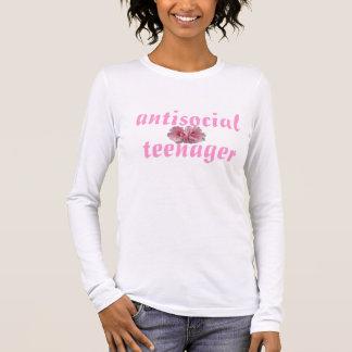 antisocial teenager long sleeve T-Shirt