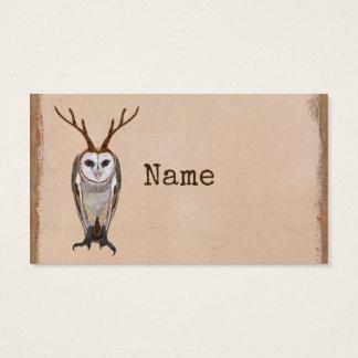 ANTLER OWL Business Card
