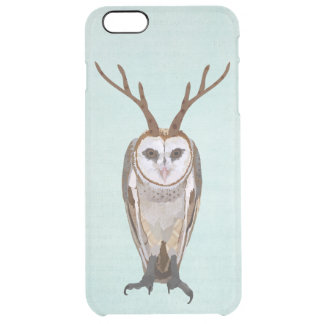 ANTLER OWL CLEAR iPhone 6 PLUS CASE