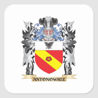 Antonowicz Coat of Arms - Family Crest Square Sticker