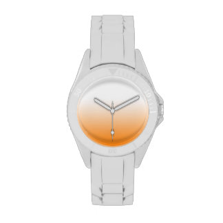 Any Color with Orange Gradient Wrist Watches