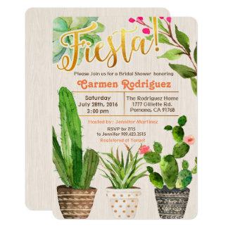 ANY EVENT - Fiesta Succulent Cactus Invitation