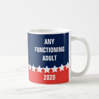 Any Functioning Adult 2020 coffee mug