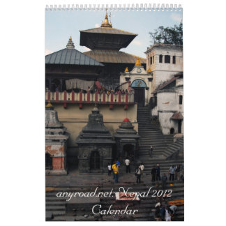 anyroad.net Nepal 2012 Calendar