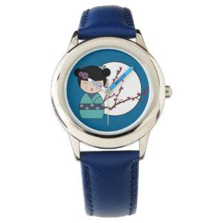 Aoi Kokeshi Wristwatch