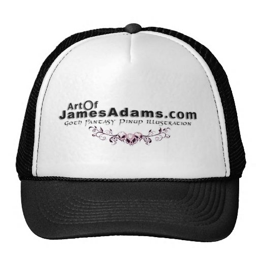 AOJA logo w/ skulls Hat