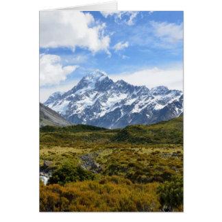 Aoraki / Mount Cook Card