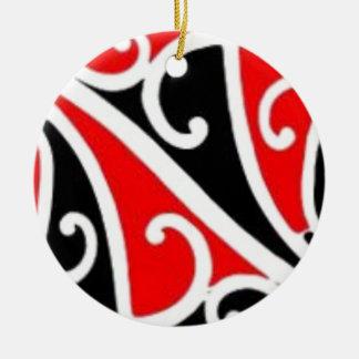 aotearoa maori christmas ornament