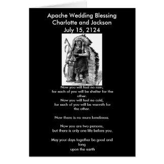 Apache Wedding Blessing Dakota-Sioux Cheif Greeting Cards