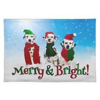 APAL - Christmas Dalmatian Dogs Placemat