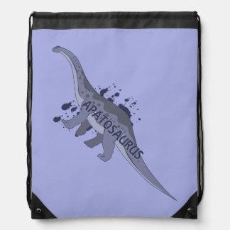 Apatosaurus Drawstring Bag