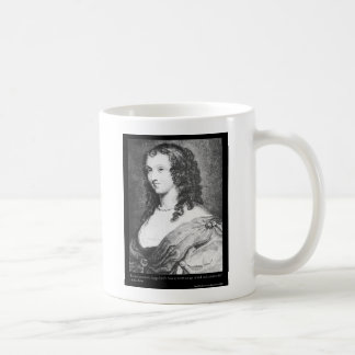 Aphra Behn Love Quote tees cards gifts etc Basic White Mug