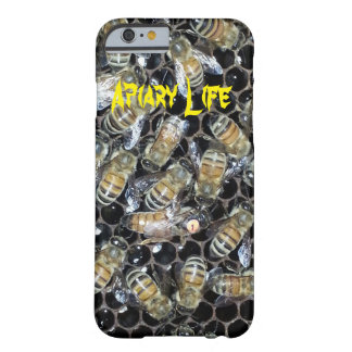 Apiary Life iPhone 6 Case - Queen bee on honeycomb