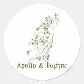 Apollo & Daphne Classic Round Sticker