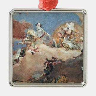 Apollo in his Sun Chariot driving Beatrice I Christmas Ornament