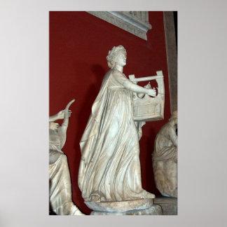 Apollo Statue in the Vatican Museum Print