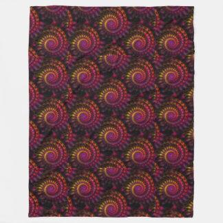 Apophysis Power Spirals Pattern + your ideas Fleece Blanket