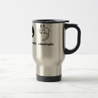 apostrophe catastrophe travel mug